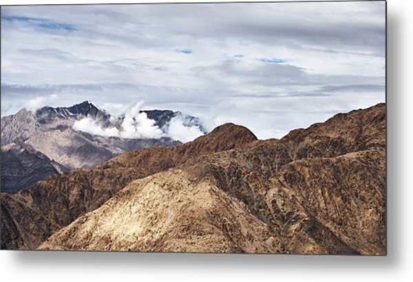 Metal Print featuring the photograph Ladakh Peaks by Whitney Goodey