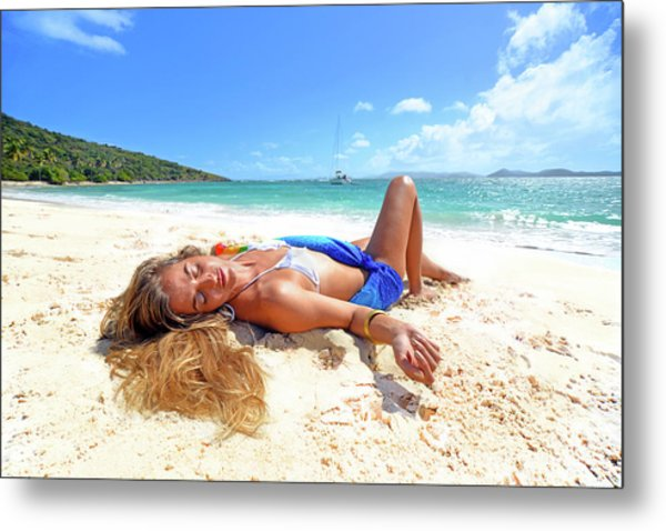 Lady Of The Leewards Metal Print