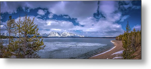 Lake Jackson Wyoming Metal Print