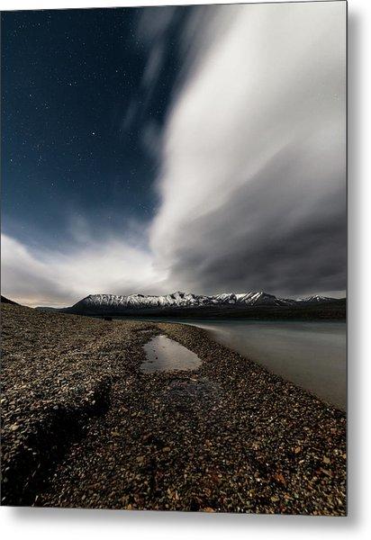 Lake Mcdonald Storm Metal Print