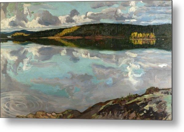 Lake Ruovesi, 1896 Metal Print