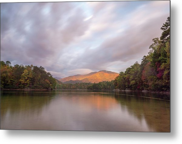 Lake Santeetlah Sunrise Metal Print