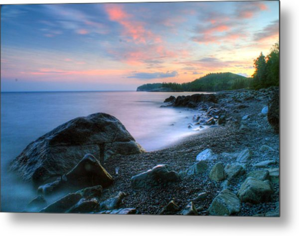 Lake Superior Metal Print