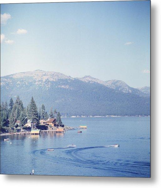 Lake Tahoe Metal Print by Slim Aarons