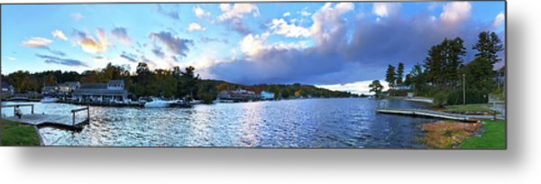 Metal Print featuring the photograph Lake Winnipesaukee From Alton Bay, Nh by Joann Vitali