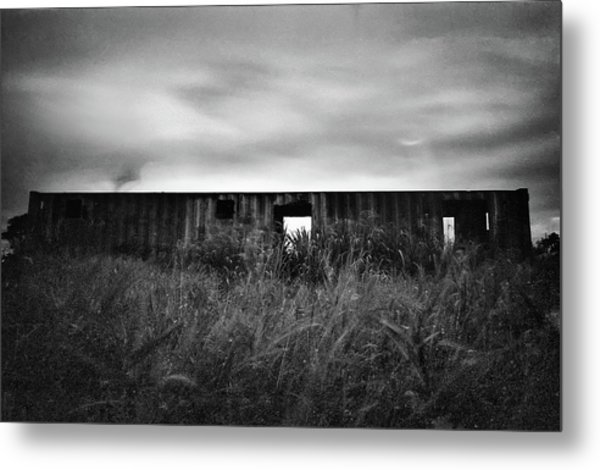 Land Of Decay Metal Print