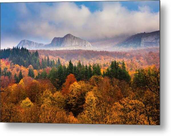 Land Of Illusion Metal Print
