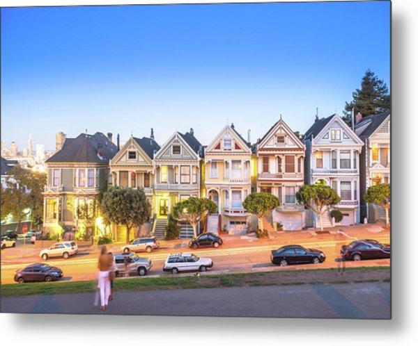 Landmark Residential House In San Metal Print by Dowell