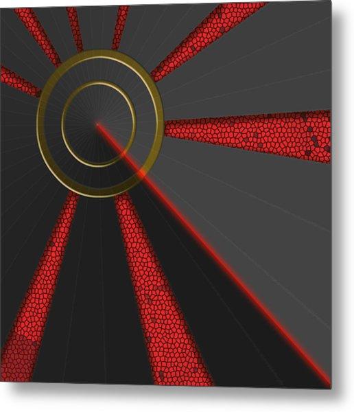 Laser Lock Sequencer Metal Print