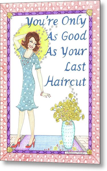 Last Haircut Metal Print
