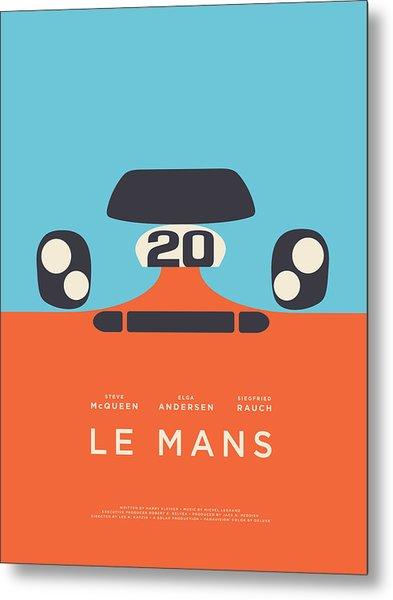 Le Mans Movie - B Metal Print