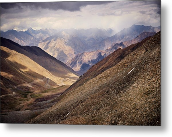 Leh-manali Mountains Metal Print