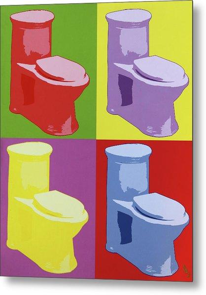 Les Toilettes  Metal Print