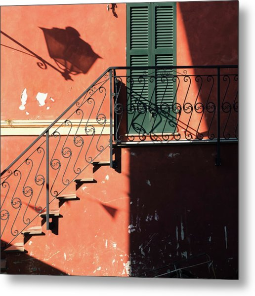 Metal Print featuring the photograph Light In Shadow by Nicole Young