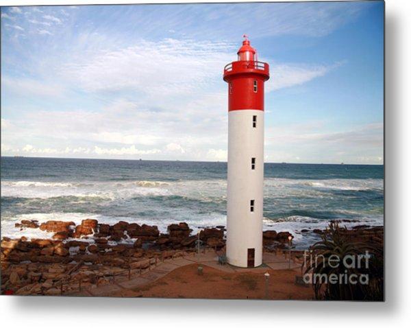 Lighthouse Umhlanga South Africa Metal Print