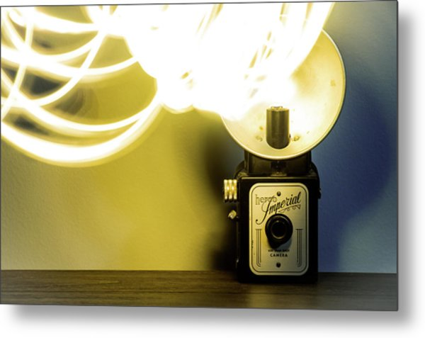 Lights, Camera, Action Metal Print