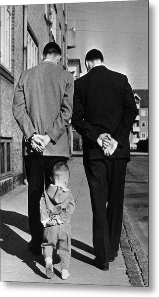 Like Father Like Son Metal Print by Keystone