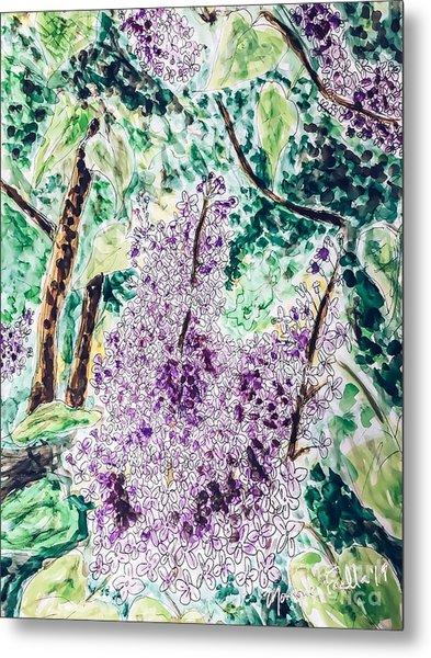 Lilac Dreams Metal Print