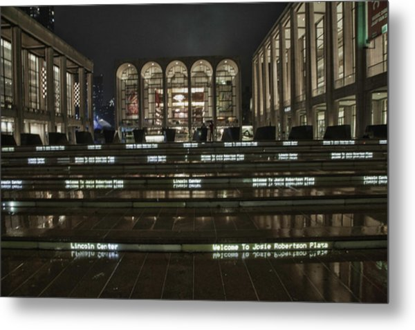 Lincoln Center For The Performing Arts Metal Print