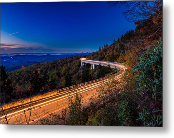 Linn Cove Viaduct - Blue Ridge Parkway Metal Print