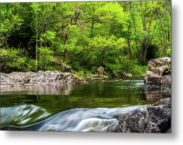 Linn Of Tummel Metal Print by David Ross