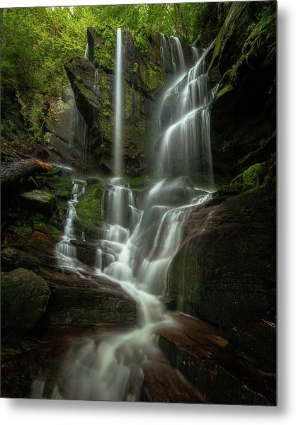 Linville Gorge - Waterfall Metal Print