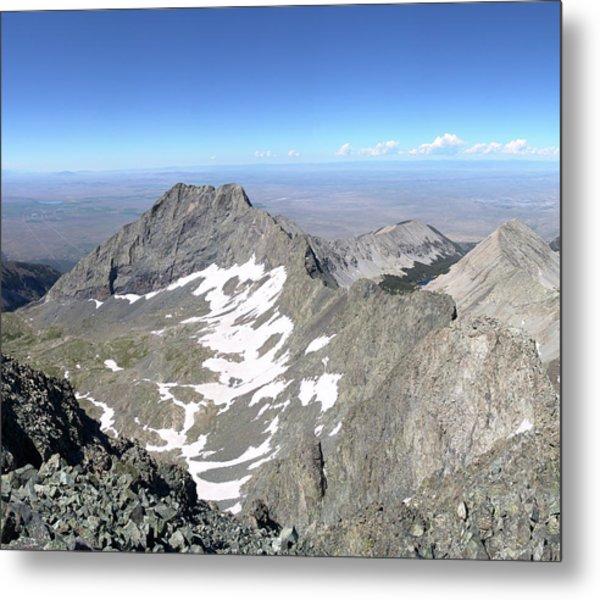 Little Bear Peak From Blanca Peak Metal Print