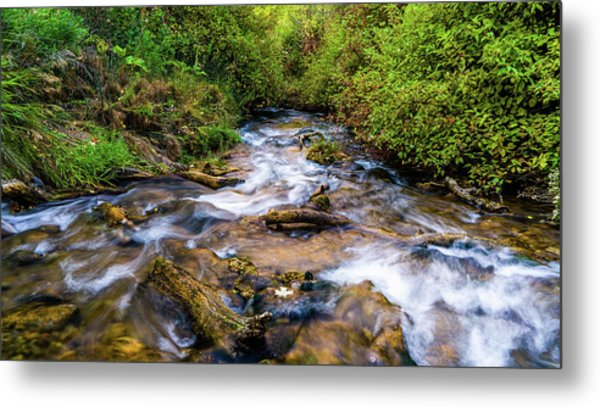 Metal Print featuring the photograph Little Deer Creek by TL Mair