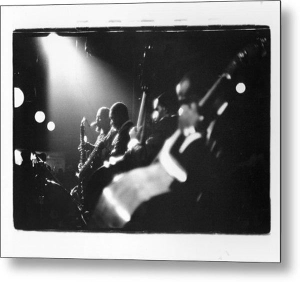 Live In New York Metal Print