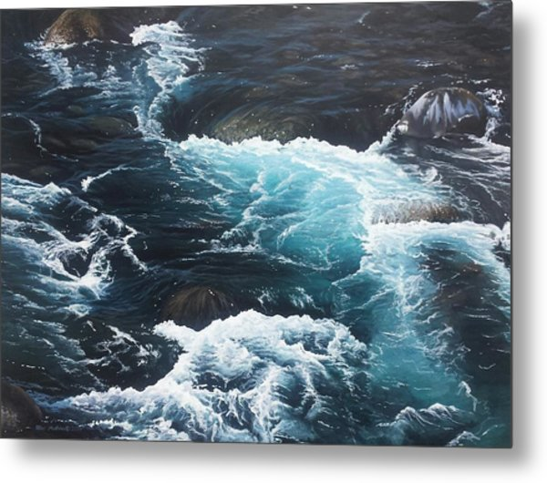 Living Waters Metal Print