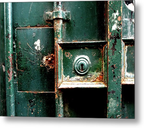 Metal Print featuring the photograph Lock by Edward Lee