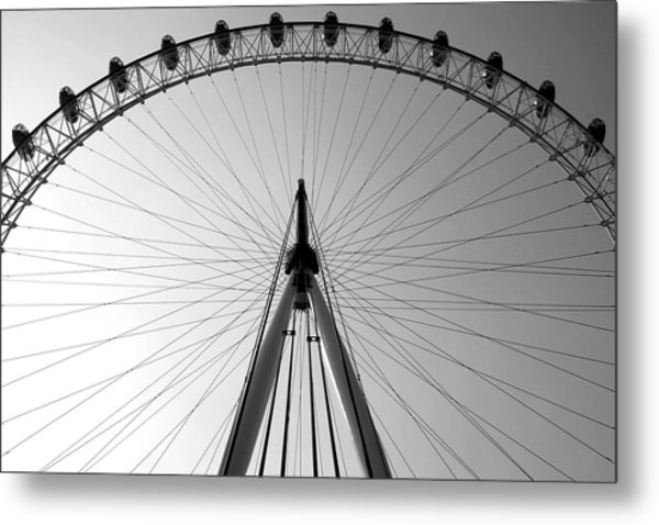 London_eye_i Metal Print