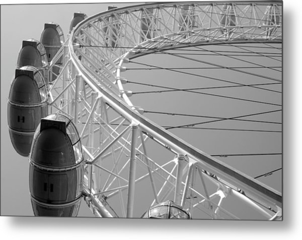 London_eye_ii Metal Print