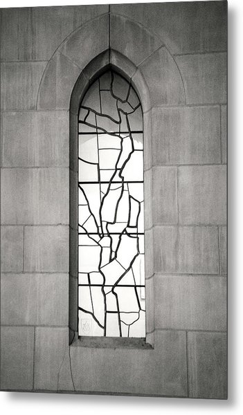 Lone Cathedral Window Metal Print