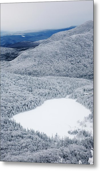 Lonesome Lake From Hi-cannon Trail Metal Print
