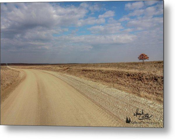 Lonesome Road Metal Print
