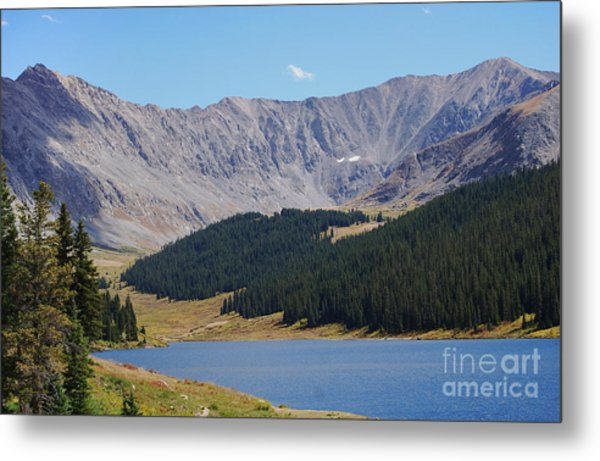 Longs Peak Colorado Metal Print