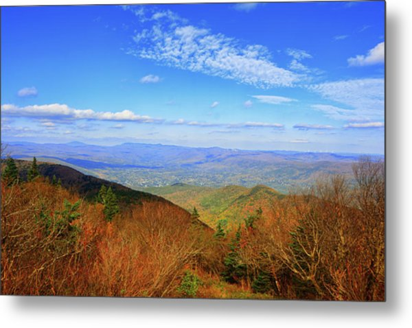 Metal Print featuring the photograph Looking Towards Vermont And New Hampshire by Raymond Salani III