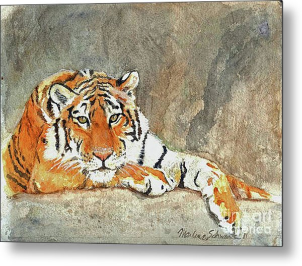 Lord Of The Jungle Metal Print