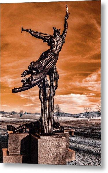Louisiana Monument Metal Print