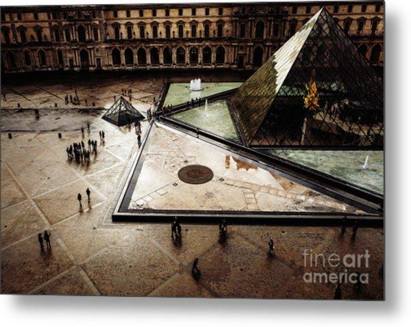 Louvre Metal Print