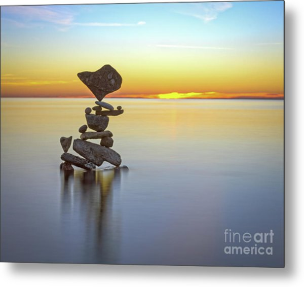 Love Touch Metal Print