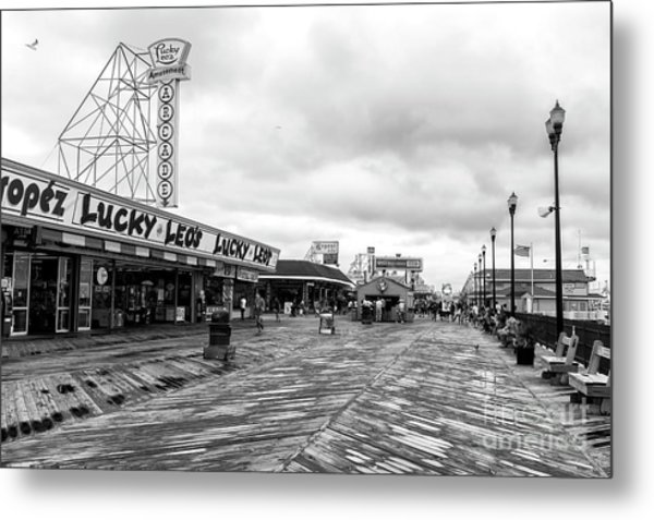 Lucky Leo's Seaside Heights Metal Print
