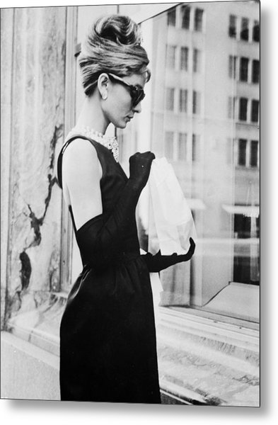 Lunch On Fifth Avenue Metal Print