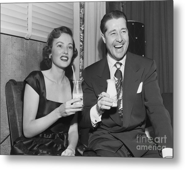 Lux Radio Theatre Metal Print by Cbs Photo Archive