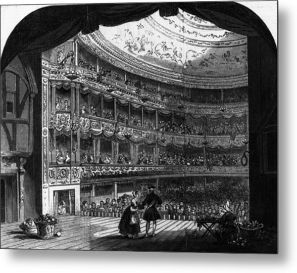 Lyceum Theatre Metal Print by Hulton Archive