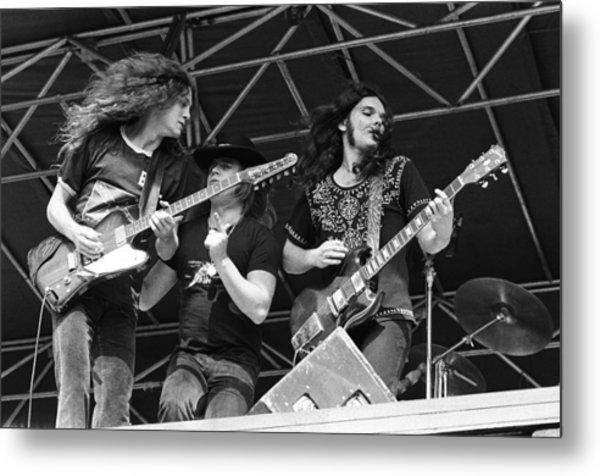 Lynyrd Skynyrd Performs Live Metal Print