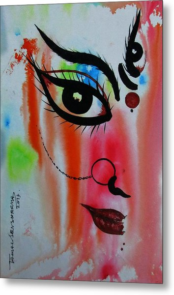Ma Durga-5 Metal Print
