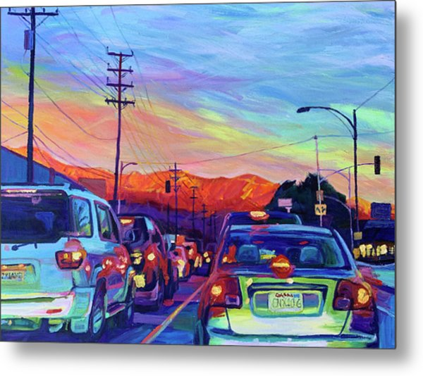 Magic Hour Metal Print