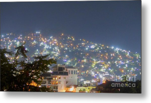 Magic Of Zihuatanejo Bay Metal Print